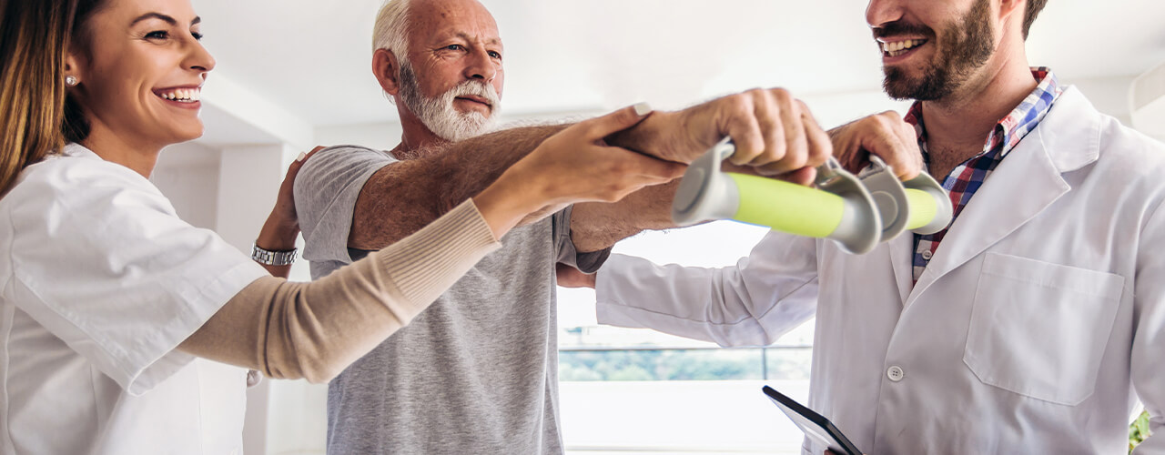 Physical therapy can help regain strength and relieve pain